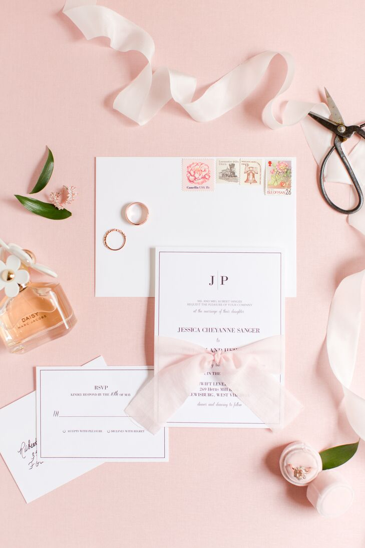 Classic Ribbon-Tied Invitations