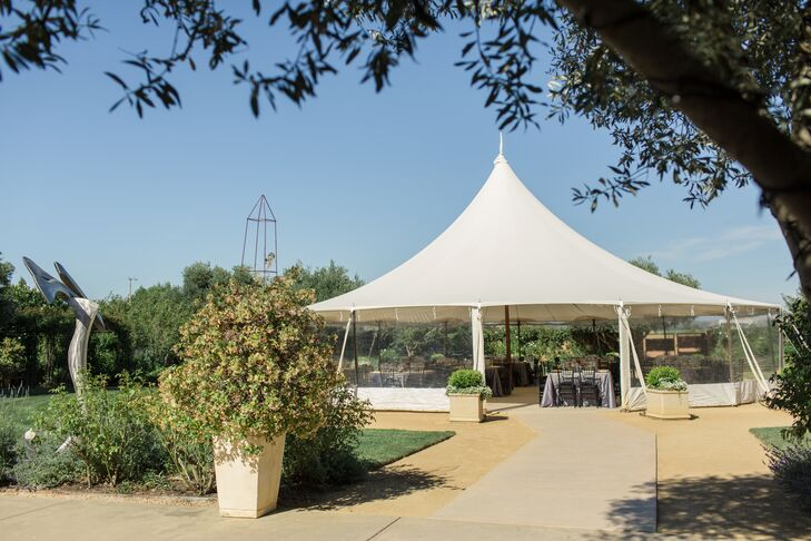 Tented Garden Reception, Cornerstone Sonoma
