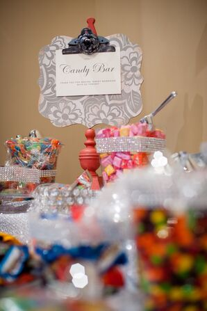 Candy Bar With Assorted Candies