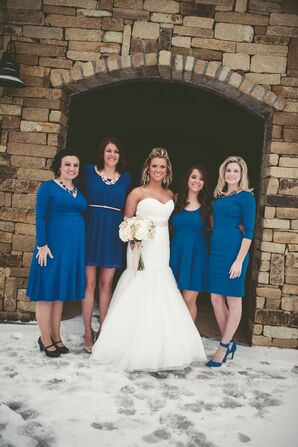 Kentucky Blue Bridesmaid Dresses