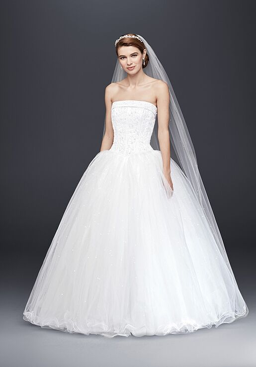 David\'s Bridal David\'s Bridal Collection Style NT8017 Wedding Dress ...