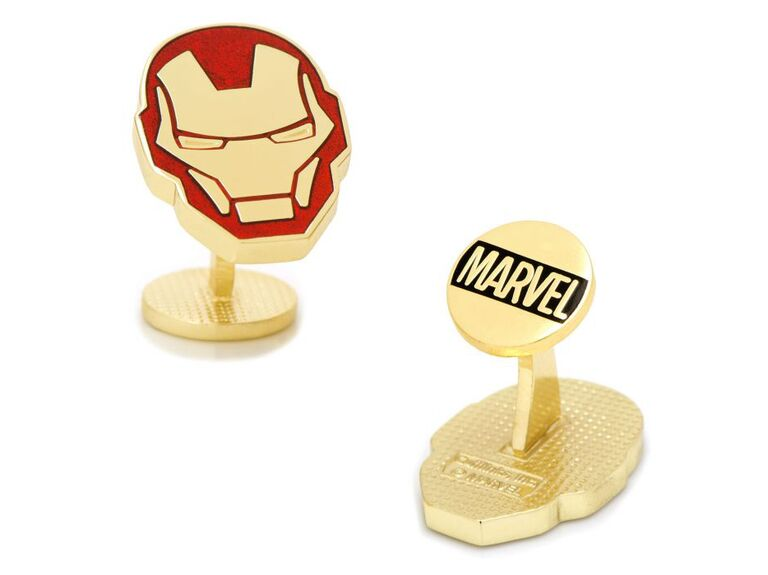 Iron Man cufflinks sixth anniversary gift for him