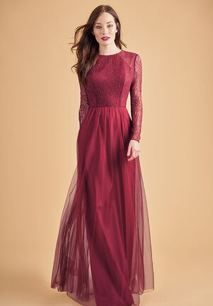 Belsoie Bridesmaids by Jasmine L204060 Bateau Bridesmaid Dress