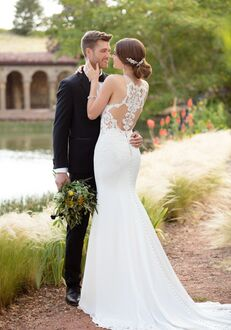 Essense of Australia D2405 Sheath Wedding Dress
