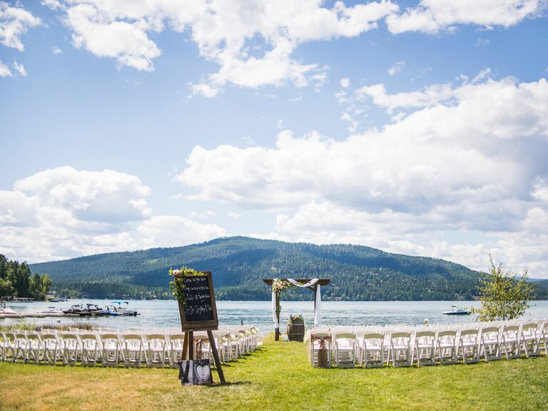 Lodge at Whitefish Lake Montana wedding venue
