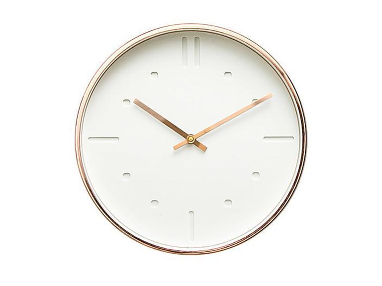 Dot & Bo modern Scandinavian design 12-inch Silent Sweep wall clock
