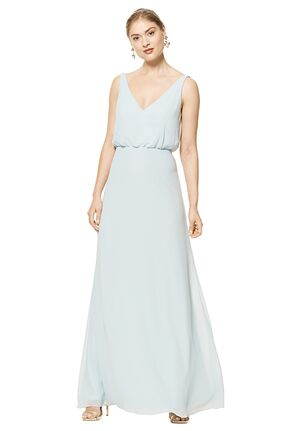 #LEVKOFF 7100 V-Neck Bridesmaid Dress