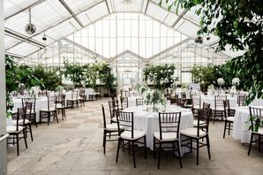 Classic Garden Reception at MSU Horticulture Gardens in East Lansing, Michigan