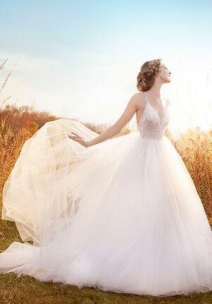 Jim Hjelm 8610 Ball Gown Wedding Dress