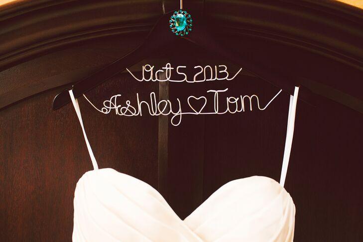 Ashley and Tom Custom Wedding Hangere