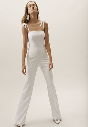 BHLDN Trinity Jumpsuit Sheath Wedding Dress