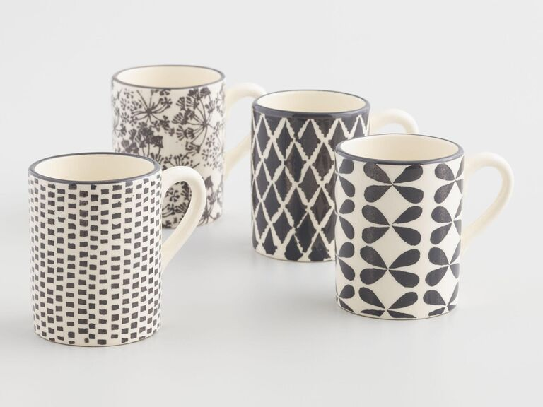 Coffee mug bridal shower favors