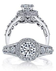 MARS Fine Jewelry Glamorous Round Cut Engagement Ring
