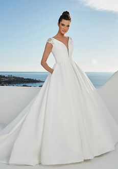 Justin Alexander Brighton Ball Gown Wedding Dress