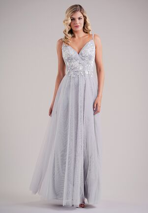 Belsoie Bridesmaids by Jasmine L224002 V-Neck Bridesmaid Dress