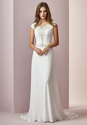 Long Simple Dresses Gloria's Bridal