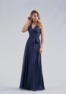 Belsoie Bridesmaids by Jasmine L214060 V-Neck Bridesmaid Dress