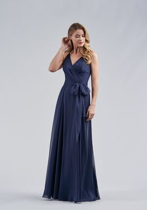 Belsoie Bridesmaids by Jasmine L214060 V-Neck Bridesmaid Dress