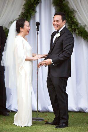 Layered Knee-Length Bridal Veil