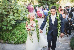 Classic Hawaiian Wedding Leis