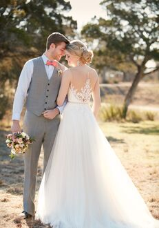 Essense of Australia D2085 A-Line Wedding Dress