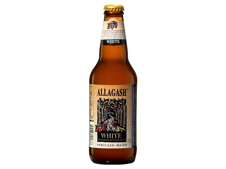 Allagash White beer can