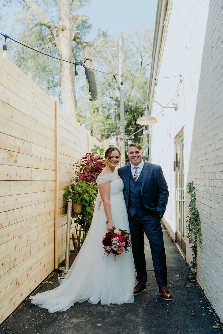 Wedding Portraits at Wild Carrot in St. Louis, Missouri