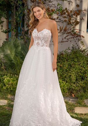 Beloved by Casablanca Bridal BL308 Dahlia A-Line Wedding Dress