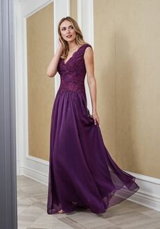 Jade Mother of the Bride by Jasmine J215064 Purple Mother Of The Bride Dress