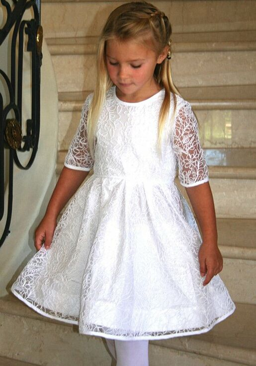 6205943d363 Isabel Garretón Beautiful - Girl Flower Girl Dress - The Knot
