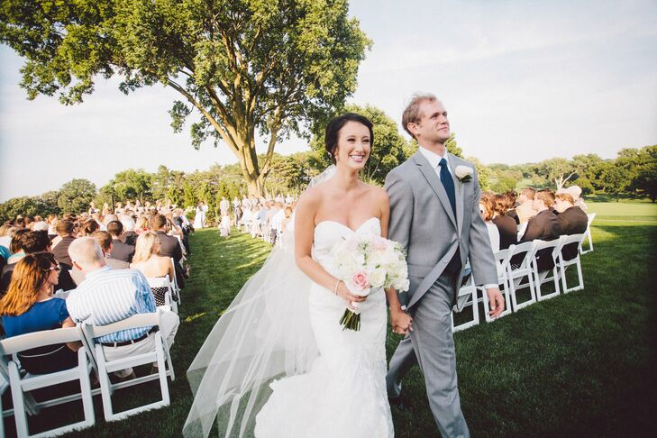 The couple exited the ceremony with live music performed by Karly Jurgensen of Karlyn Music.