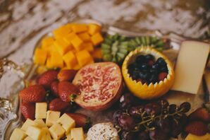 Fresh Cheese and Fruit Plate
