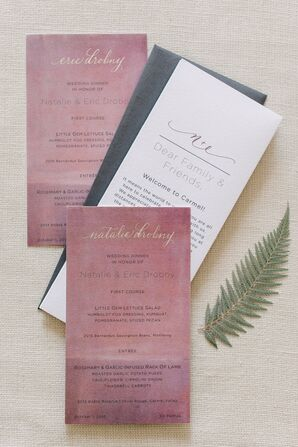 Hand-Painted Invitations