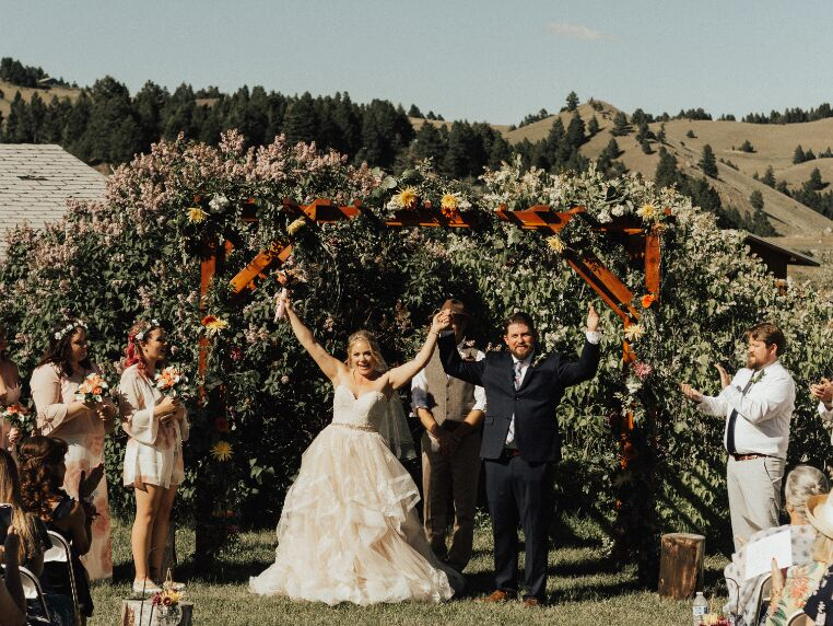 Montana wedding venue in Marysville, Montana.