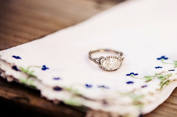Oval Shaped Diamond Engagement Ring