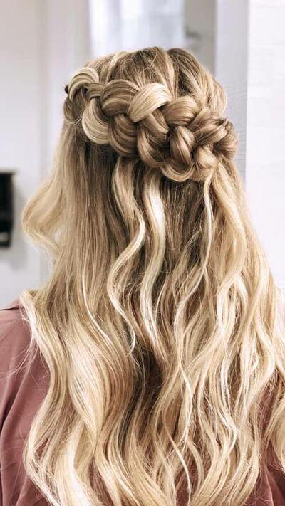 Bridal Hair by Andrea