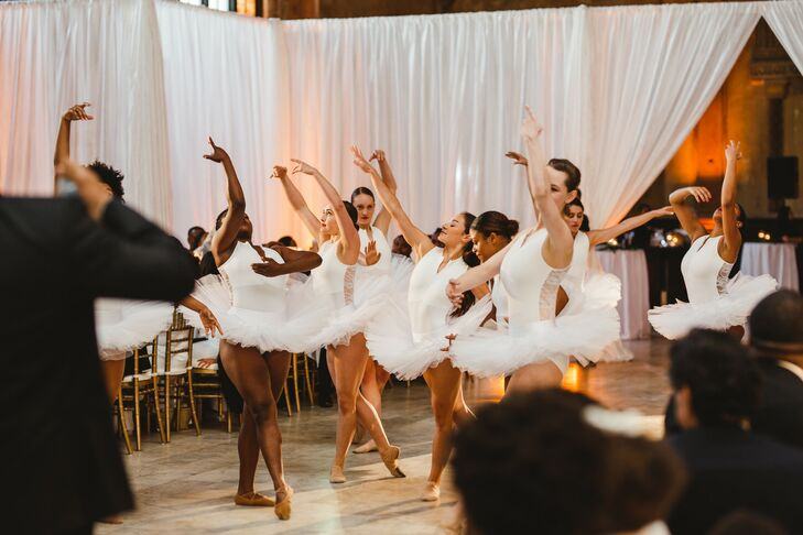 Unique Ballet Wedding Entertainment