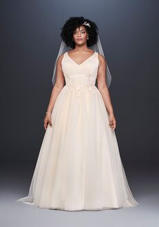 David's Bridal David's Bridal Style 9WG3930 A-Line Wedding Dress