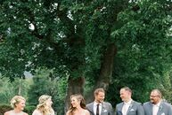 Molly Suggs and Matt Torman wed in Molly's hometown in Colorado. Their simple invitations hinted at the traditional elements of the wedding, such as t
