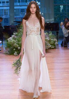 Monique Lhuillier Julia Sheath Wedding Dress