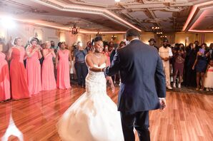 Couple's First Dance at Brigalias in Sicklerville, New Jersey
