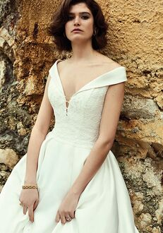 Justin Alexander Belle Ball Gown Wedding Dress