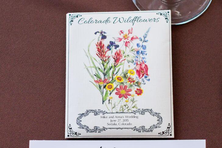 Diy Colorado Wildflower Seed Packet Wedding Favors