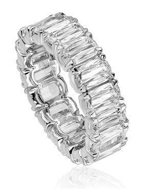 Christopher Designs L129B-0-600 White Gold Wedding Ring
