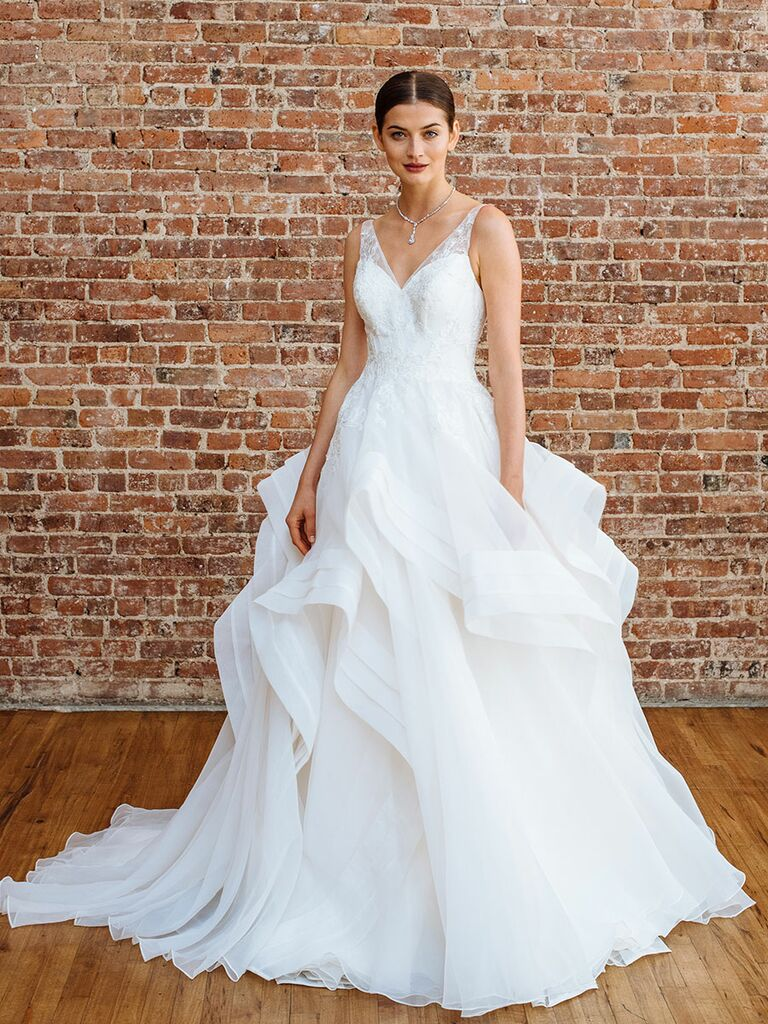 Truly by Zac Posen Fall 2018 Collection: Bridal Fashion Week Photos