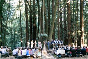 Woodland Backyard Natural Ceremony Site