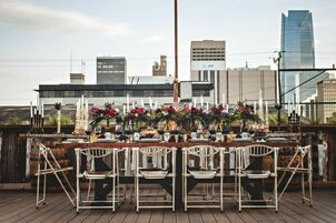 Wedding reception venues in oklahoma city ok the knot the venue at plenty mercantile junglespirit Images