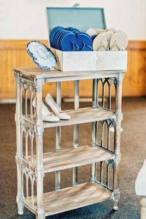 Shoe Cart at Reception