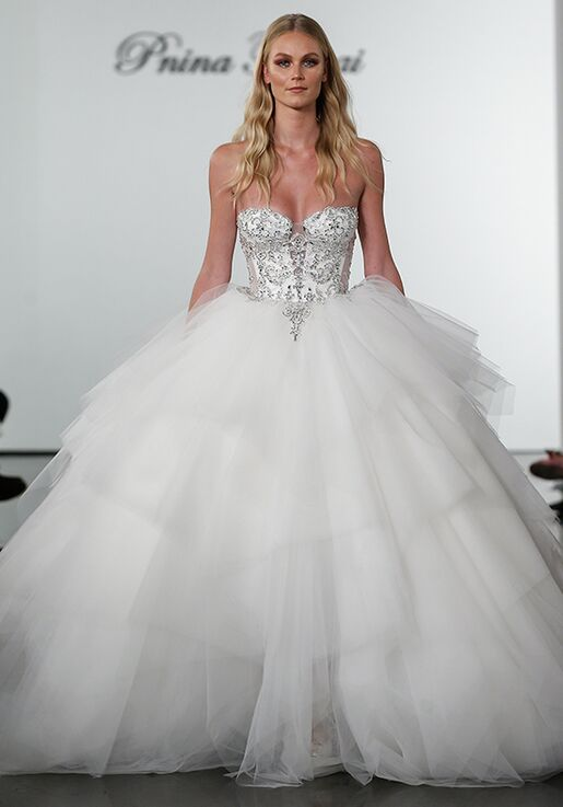 8baf52e7497 Pnina Tornai for Kleinfeld 4722 Wedding Dress - The Knot