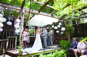 A Backyard Garden Ceremony